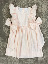LuLu BeBe Peach Ruffle Dress