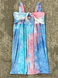 AC 407 Pink/Blue Tie Dye Dress