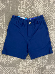 J Bailey Navy Blue Twill Short