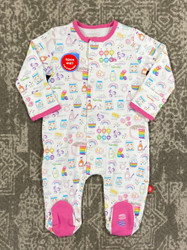 Magnificent Baby Rainbow Sprinkles Magnetic Footie