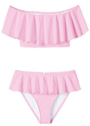 Stella Cove Pink Draped Bikini