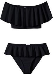Stella Cove Black Draped Bikini