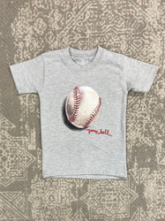 Wes & Willy Heather Baseball S/S Tee