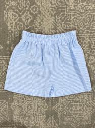 Funtasia Too Blue Seersucker Shorts