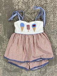 Evies Closet Americana Tunic Set