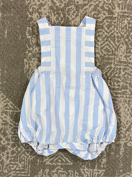 Sophie & Lucas Blue Sunny Stripe Overall