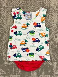 Three Sisters Baby Construction Diaper Set