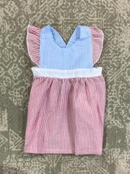 Three Sisters Baby Colorblock Dress