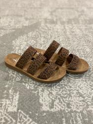 Corkys ADULT Leopard Sandal