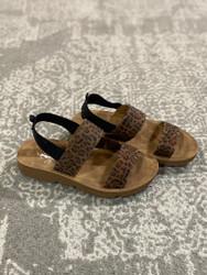 Corkys YOUTH Leopard Sandal