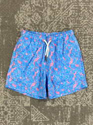 Bermies Floral Swim Trunk