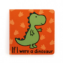 Jelly Cat If I Were a Dinosaur Book