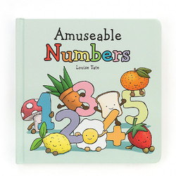 Jelly Cat Amuseable Numbers Book
