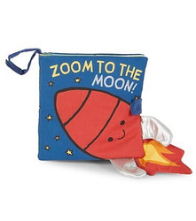 Jelly Cat Zoom to the Moon Book