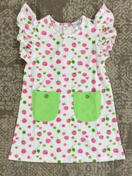 Ishtex Raspberry A-Line Dress
