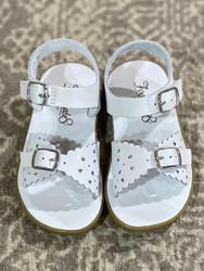 Foot Mates White Ariel Sandal