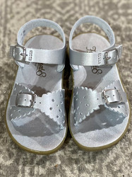 Foot Mates Silver Ariel Sandal