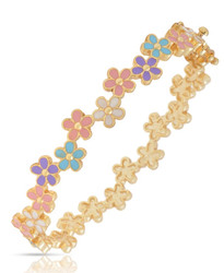 Lily Nily Multi Flower Bangle