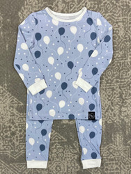 Sweet Bamboo Blue Balloons PJ Set