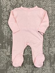 Sweet Bamboo Perfect Pink Footie with Bum Flap