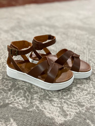 Mia Daisy Francie Cognac Platform Sandal