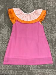 The Oaks Ally Kole Pink/Orange Dress