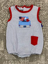Magnolia Baby Stars & Stripes Sleeveless Playsuit