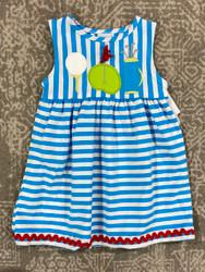 Bailey Boys Golf Trio Applique Knit Dress