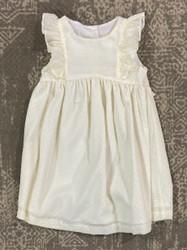 Anvy Kids Yellow Stripe Seersucker Addison Dress