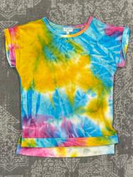 Hayden Mustard Tie Dye Top