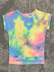 Hayden Neon Tie Dye Top