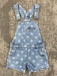 Tractr Star Denim Overall