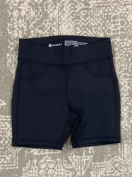 Tractr Black Biker Short