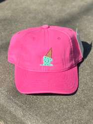 Harding Lane Bright Pink Icecream Kids Hat