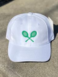 Harding Lane White Tennis Racquets Kids Hat