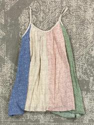 Love Daisy Taupe Multi Cami Dress
