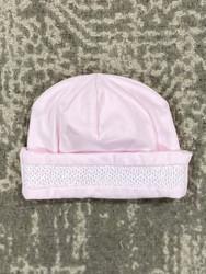 Kissy Kissy Pink Charmed Smocked Hat
