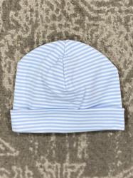 Kissy Kissy Blue Stripes Hat