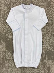 Kissy Kissy Basic White/Blue Convertible Gown