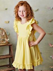 Serendipity Lemon Bella Pocket Dress