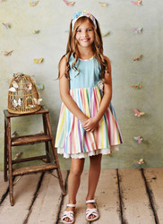 Serendipity Over The Rainbow Dress with Shortie