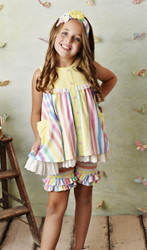 Serendipity Over The Rainbow Tunic with Shortie