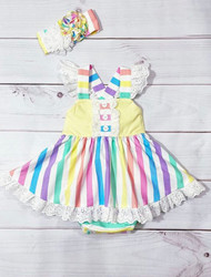 Serendipity Over The Rainbow Bubble Dress