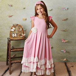 Serendipity French Rose Pink Maxi Dress
