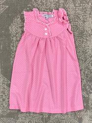 Sweet Dreams Pink Polka Dot Gown