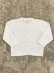 Petit Ami White Girl Sweater