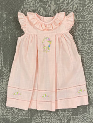 Sophie & Lucas Peach Summer Tea Dress