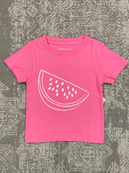 Mustard & Ketchup Kids Hot Pink Watermelon Tee