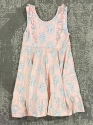 Natalie Grant Knit Bunny Twirl Dress