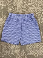 Funtasia Too Navy Seersucker Shorts